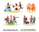 criminal design concept with... | Shutterstock .eps vector #1132596401