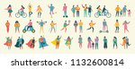 vector illustration in a flat... | Shutterstock .eps vector #1132600814