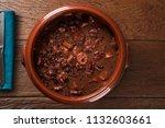 brazilian feijoada food. top...   Shutterstock . vector #1132603661