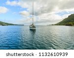 papeete  french polynesia  ... | Shutterstock . vector #1132610939