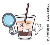 detective white russian... | Shutterstock .eps vector #1132615529