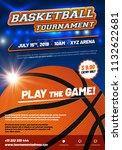 modern basketball poster... | Shutterstock .eps vector #1132622681