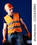 worker  handyman  repairman ... | Shutterstock . vector #1132635881