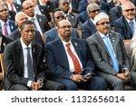 somalia's president mohamed... | Shutterstock . vector #1132656014