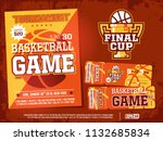 modern professional sports...   Shutterstock .eps vector #1132685834