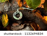 hand made jewelry  ceramic... | Shutterstock . vector #1132694834