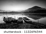 beautiful fine art black and... | Shutterstock . vector #1132696544