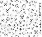 seamless football pattern on a...