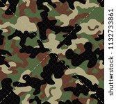 seamless textured diagonal... | Shutterstock .eps vector #1132733861