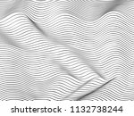 wave lines pattern abstract...   Shutterstock .eps vector #1132738244