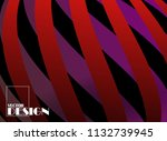 cover design. cool shapes...   Shutterstock .eps vector #1132739945