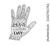 international left handers day. ...   Shutterstock .eps vector #1132761761