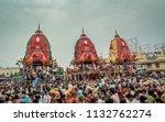 puri  orissa  india   august 9  ... | Shutterstock . vector #1132762274