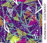 abstract seamless vector... | Shutterstock .eps vector #1132764527