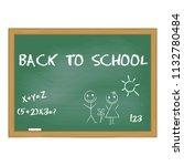 back to school. vector...   Shutterstock .eps vector #1132780484