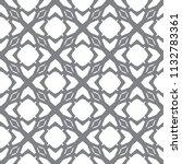 seamless geometric ornamental... | Shutterstock .eps vector #1132783361