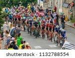 huelgoat  brittany  france ... | Shutterstock . vector #1132788554