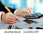accounting. | Shutterstock . vector #113281159