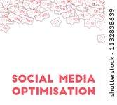 social media icons. social... | Shutterstock .eps vector #1132838639