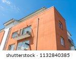 modern luxury apartment... | Shutterstock . vector #1132840385
