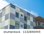 modern giant  apartment... | Shutterstock . vector #1132840445