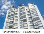 modern giant  apartment... | Shutterstock . vector #1132840535