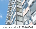 modern giant  apartment... | Shutterstock . vector #1132840541