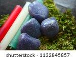 beautiful  charming purple... | Shutterstock . vector #1132845857