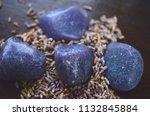 beautiful  charming purple... | Shutterstock . vector #1132845884