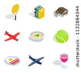 business variety icons set.... | Shutterstock . vector #1132884344