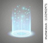 magic portal of fantasy.... | Shutterstock .eps vector #1132902971