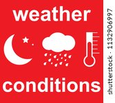 different weather conditions ...   Shutterstock .eps vector #1132906997