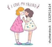 vector illustration greeting...   Shutterstock .eps vector #1132911614
