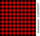 lumberjack plaid. scottish... | Shutterstock .eps vector #1132932197