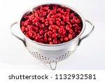 fresh cornel berries in a...   Shutterstock . vector #1132932581