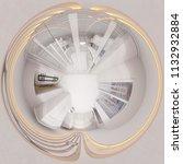 3d illustration hall interior...   Shutterstock . vector #1132932884
