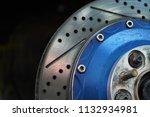 race car's disc brake   high... | Shutterstock . vector #1132934981