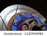 race car's disc brake   high... | Shutterstock . vector #1132934984