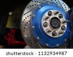 race car's disc brake   high... | Shutterstock . vector #1132934987
