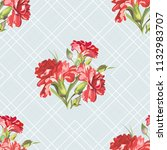 seamless floral pattern with... | Shutterstock .eps vector #1132983707