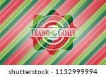 training goals christmas style... | Shutterstock .eps vector #1132999994