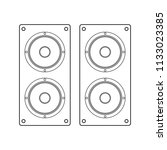 abstracct cinema symbol | Shutterstock .eps vector #1133023385
