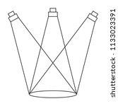 abstracct cinema symbol | Shutterstock .eps vector #1133023391