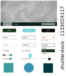 light blue  green vector...