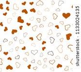 dark orange vector seamless... | Shutterstock .eps vector #1133024135