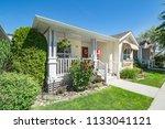 perfect neighbourhood. entrance ... | Shutterstock . vector #1133041121