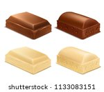 vector realistic collection of... | Shutterstock .eps vector #1133083151