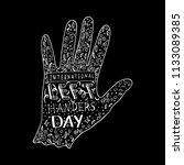 international left handers day. ...   Shutterstock .eps vector #1133089385