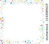 social media marketing ... | Shutterstock .eps vector #1133089619