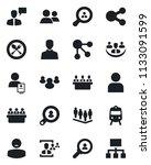 set of vector isolated black... | Shutterstock .eps vector #1133091599